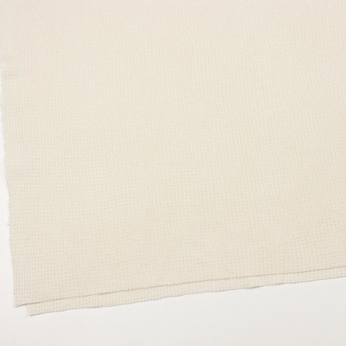 コットン×無地(キナリ)×ワッフルニット_全3色 イメージ2