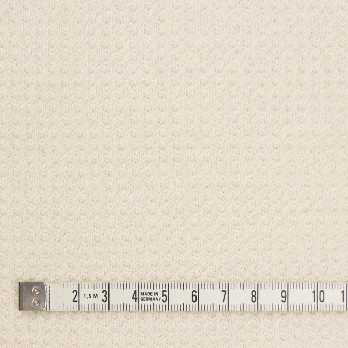 コットン×無地(キナリ)×ワッフルニット_全3色 イメージ4