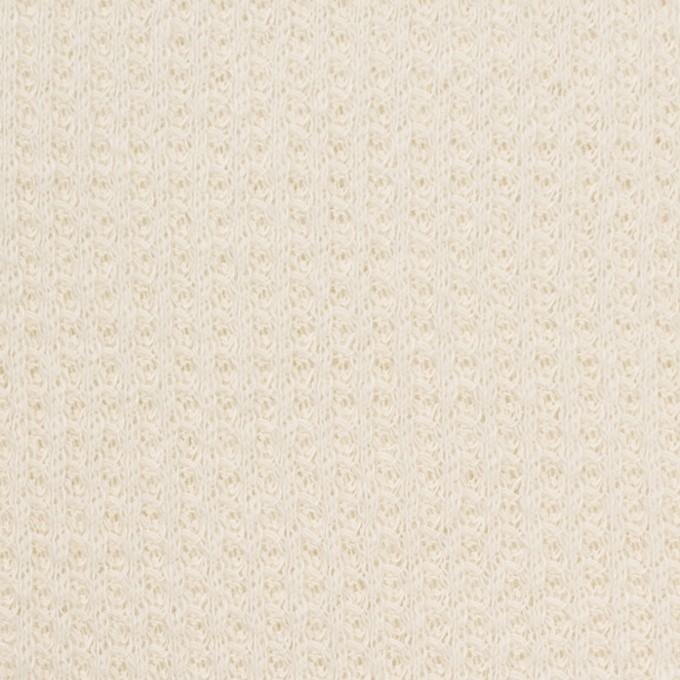 コットン×無地(キナリ)×ワッフルニット_全3色 イメージ1