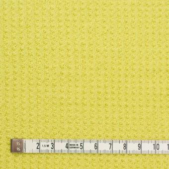 コットン×無地(ライムグリーン)×ワッフルニット_全3色 サムネイル4