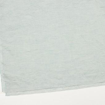 コットン&リネン×ボーダー(シーグリーン)×ボイルワッシャー_全3色 サムネイル2