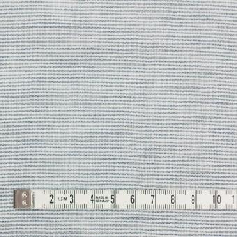 コットン&リネン×ボーダー(シャドウブルー)×ボイルワッシャー_全3色 サムネイル4