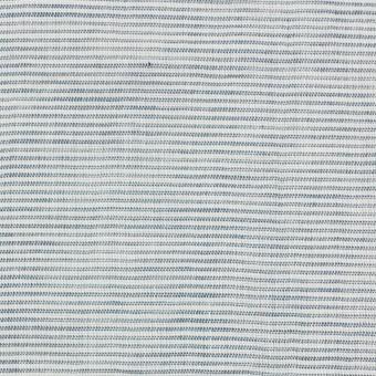 コットン&リネン×ボーダー(シャドウブルー)×ボイルワッシャー_全3色