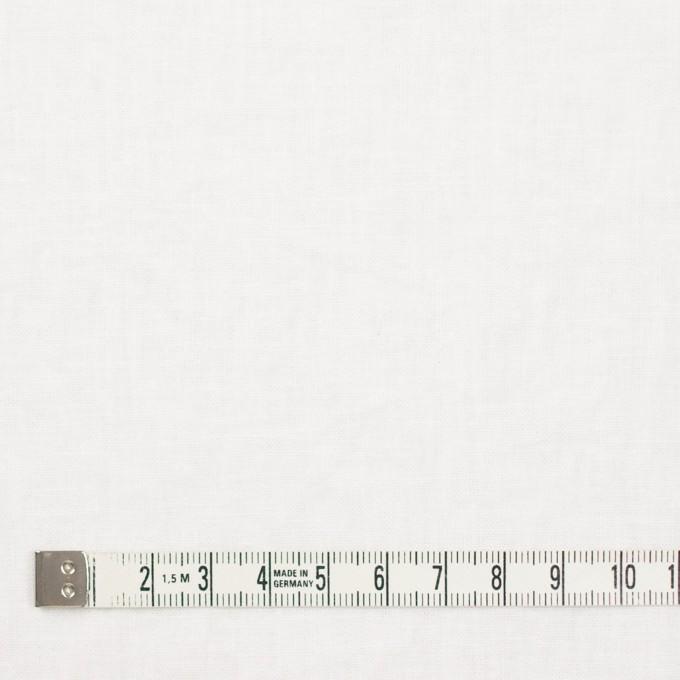 リネン&コットン×無地(ホワイト)×シーチング_全36色 イメージ4