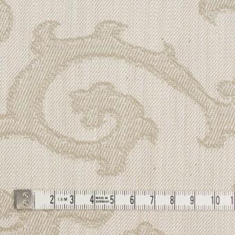 コットン×幾何学模様(ベージュ)×デニムジャガード サムネイル4