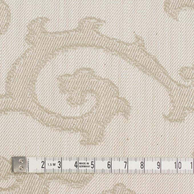 コットン×幾何学模様(ベージュ)×デニムジャガード イメージ4