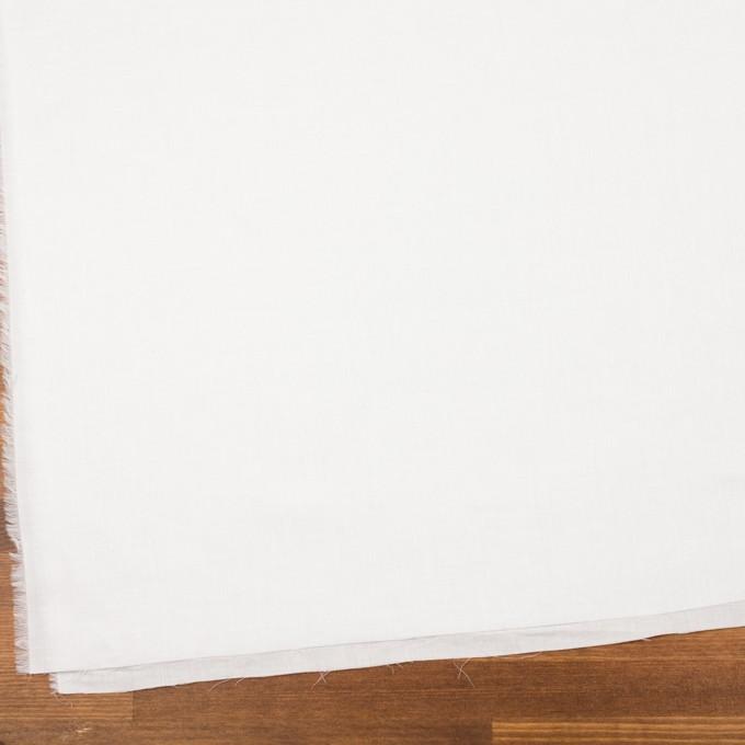 コットン&リネン×無地(ホワイト)×ヘリンボーン_全5色 イメージ2