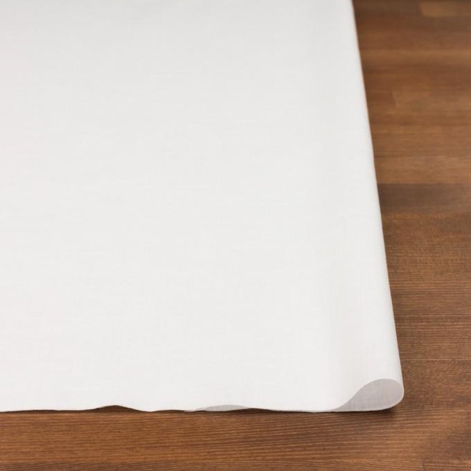 コットン&リネン×無地(ホワイト)×ヘリンボーン_全5色 イメージ3