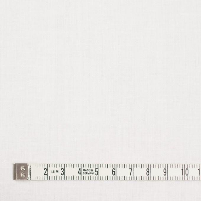 コットン&リネン×無地(ホワイト)×ヘリンボーン_全5色 イメージ4