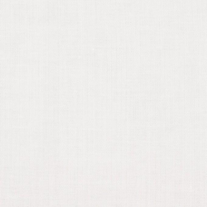 コットン&リネン×無地(ホワイト)×ヘリンボーン_全5色 イメージ1