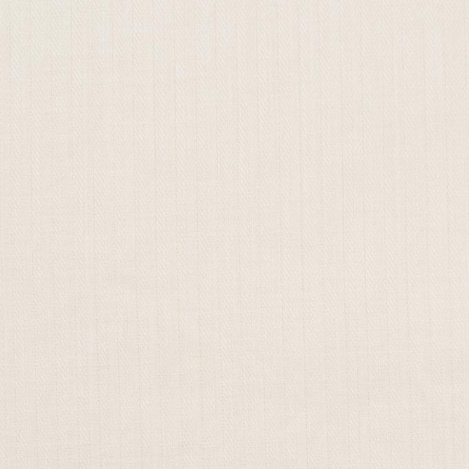 コットン&リネン×無地(アイボリー)×ヘリンボーン_全5色 イメージ1