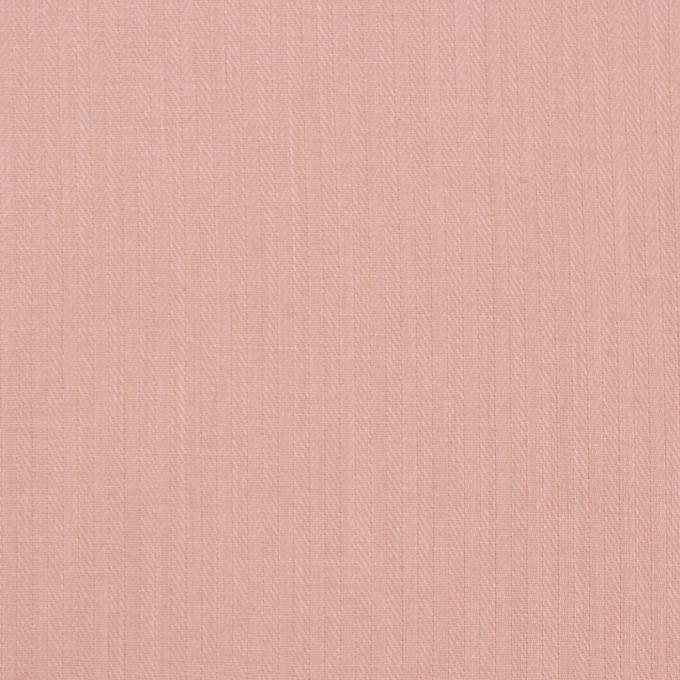 コットン&リネン×無地(スモークピンク)×ヘリンボーン_全5色 イメージ1