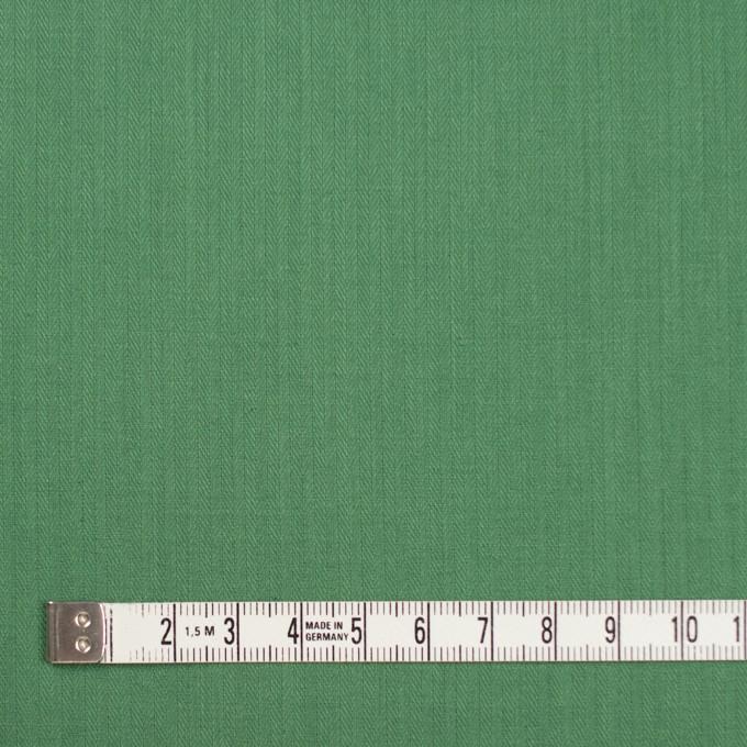 コットン&リネン×無地(グリンピース)×ヘリンボーン_全5色 イメージ4
