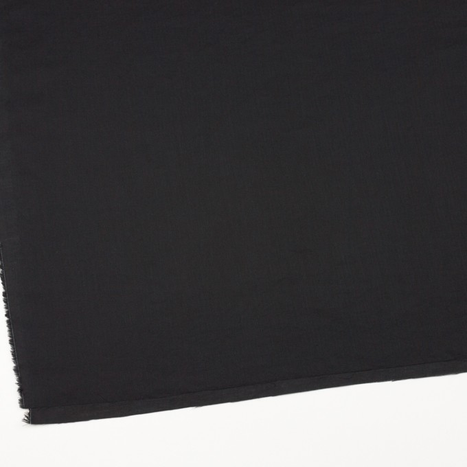 コットン&リネン×無地(ブラック)×ヘリンボーン_全5色 イメージ2