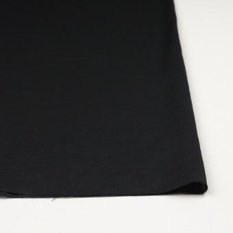 コットン&リネン×無地(ブラック)×ヘリンボーン_全5色 サムネイル3