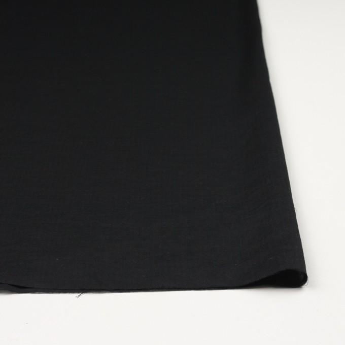 コットン&リネン×無地(ブラック)×ヘリンボーン_全5色 イメージ3