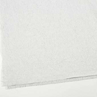 コットン&ポリエステル×ストライプ(オフホワイト&ブラック)×ブロードワッシャー刺し子_全2色 サムネイル2