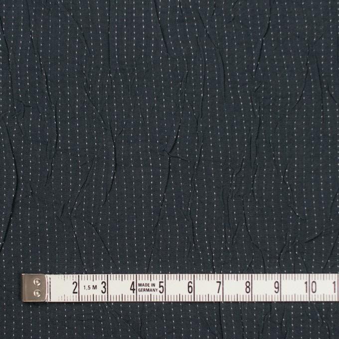 コットン&ポリエステル×ストライプ(チャコール&ホワイト)×ブロードワッシャー刺し子_全2色 イメージ4