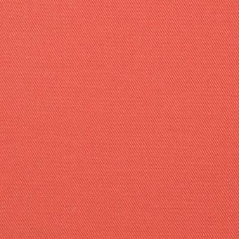 コットン&ポリウレタン×無地(スカーレット)×チノクロス・ストレッチ_全4色