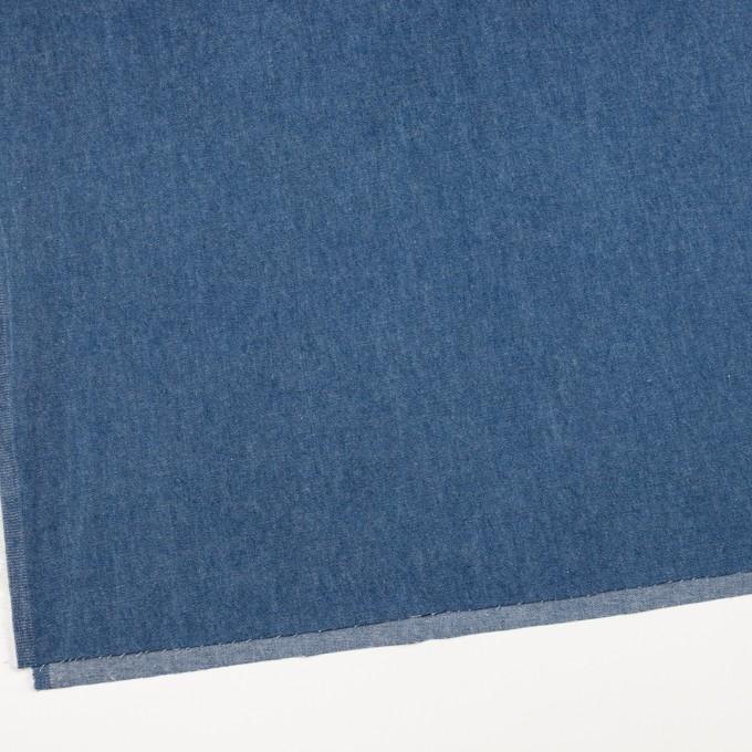 コットン×無地(ブルー)×ソフトデニム イメージ2