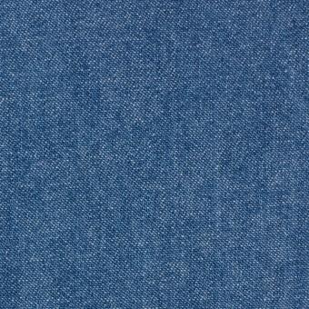 コットン×無地(ブルー)×ソフトデニム