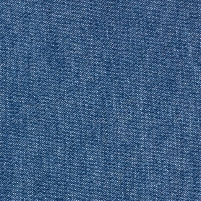 コットン×無地(ブルー)×ソフトデニム イメージ1