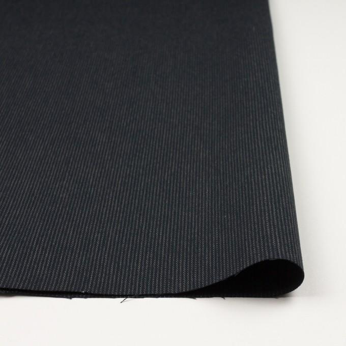コットン×ストライプ(チャコールブラック&カーキ)×サージ イメージ3