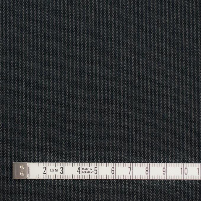 コットン×ストライプ(チャコールブラック&カーキ)×サージ イメージ4