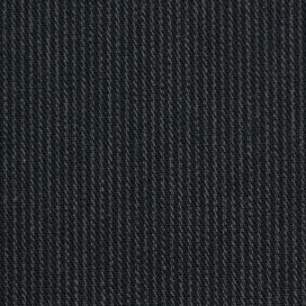 コットン×ストライプ(チャコールブラック&カーキ)×サージ