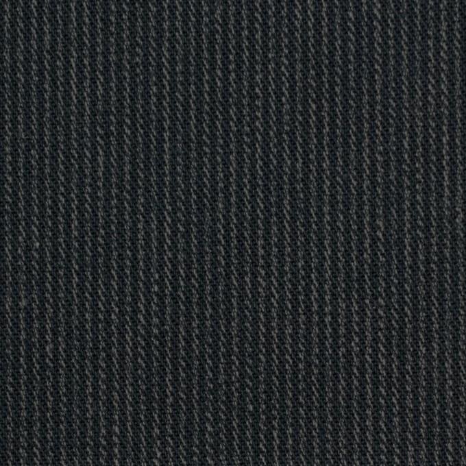 コットン×ストライプ(チャコールブラック&カーキ)×サージ イメージ1