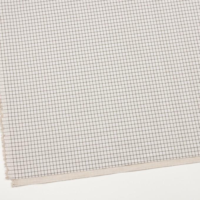 ナイロン&コットン×チェック&無地(キナリ)×オーガンジー&サージ_全3色 イメージ2