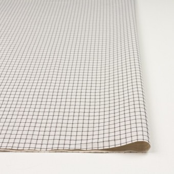ナイロン&コットン×チェック&無地(キナリ)×オーガンジー&サージ_全3色 サムネイル3