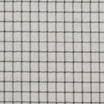 ナイロン&コットン×チェック&無地(カーキグリーン)×オーガンジー&サージ_全3色