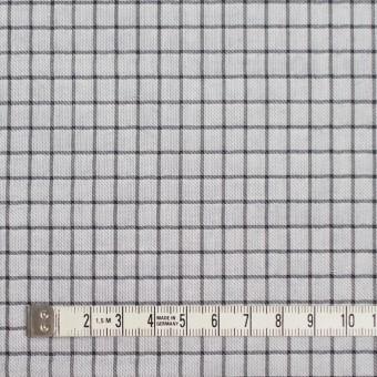 ナイロン&コットン×チェック&無地(ネイビー)×オーガンジー&サージ_全3色 サムネイル4