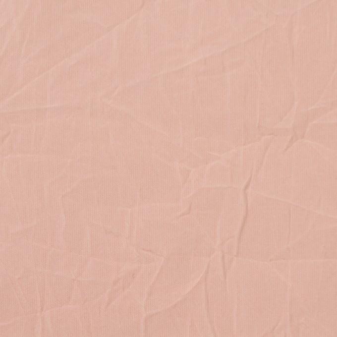 ポリエステル×無地(オールドローズ)×形状記憶シャンブレータフタワッシャー_全10色 イメージ1