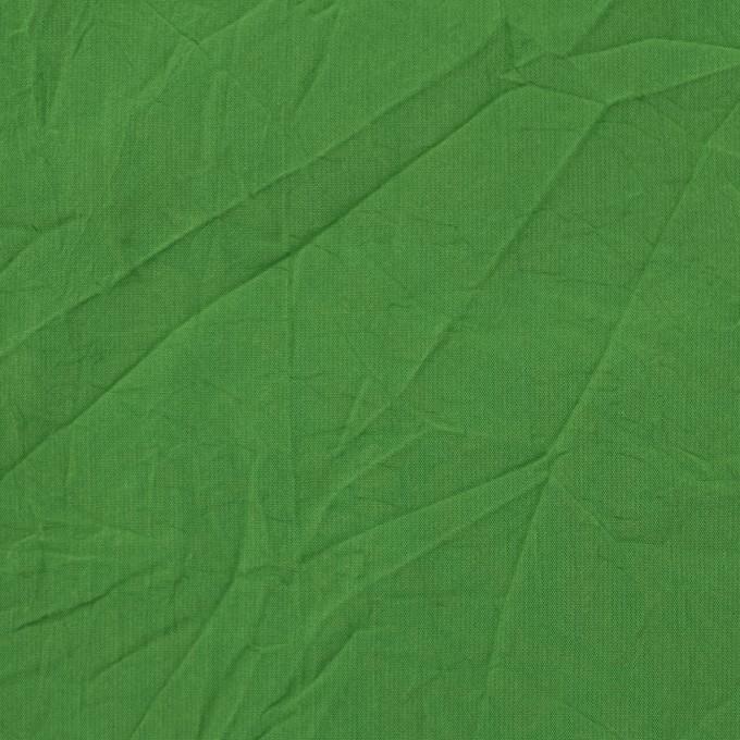 ポリエステル×無地(メドウグリーン)×形状記憶シャンブレータフタワッシャー_全10色 イメージ1