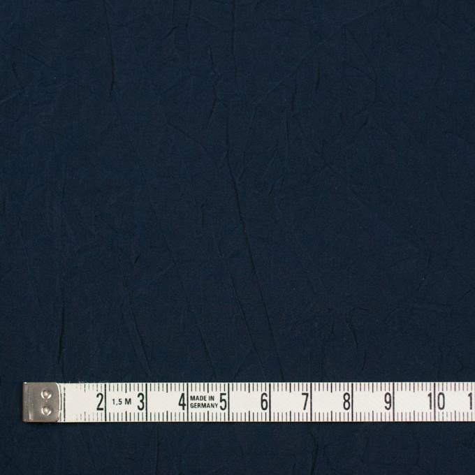 ポリエステル×無地(ダークネイビー)×形状記憶シャンブレータフタワッシャー_全10色 イメージ4
