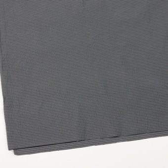 ポリエステル×ボーダー(スチールグレー)×形状記憶タフタ_全3色 サムネイル2