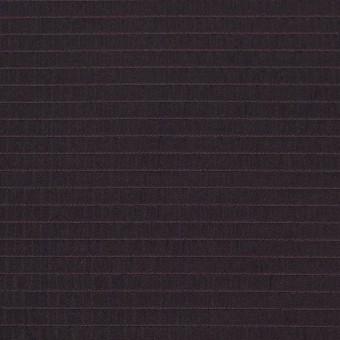 ポリエステル×ボーダー(ワイン)×形状記憶タフタ_全3色
