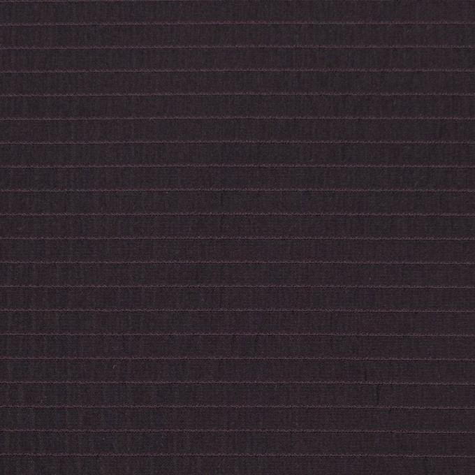 ポリエステル×ボーダー(ワイン)×形状記憶タフタ_全3色 イメージ1