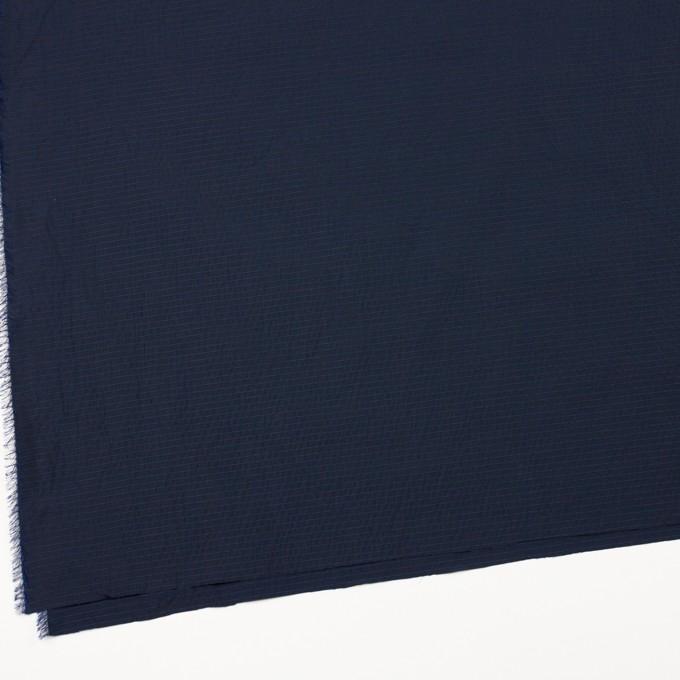 ポリエステル×ボーダー(ダークネイビー)×形状記憶タフタ_全3色 イメージ2