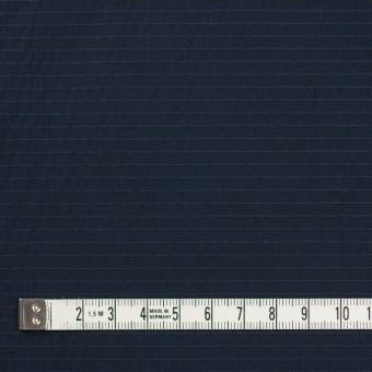 ポリエステル×ボーダー(ダークネイビー)×形状記憶タフタ_全3色 サムネイル4