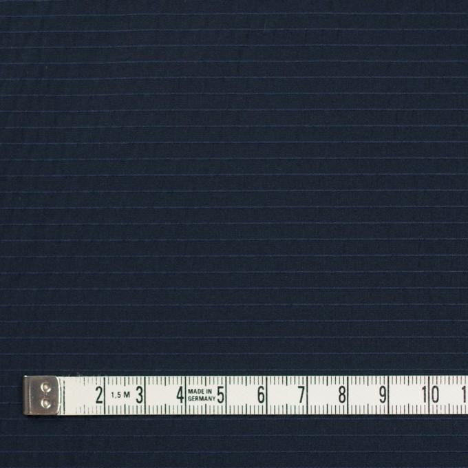 ポリエステル×ボーダー(ダークネイビー)×形状記憶タフタ_全3色 イメージ4