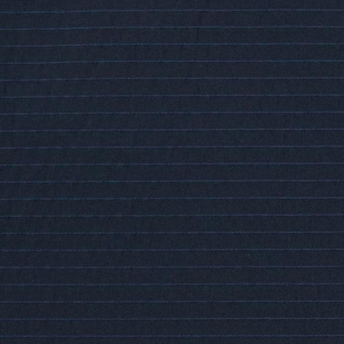 ポリエステル×ボーダー(ダークネイビー)×形状記憶タフタ_全3色 イメージ1