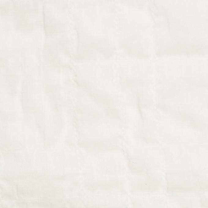 コットン&ポリウレタン×無地(ホワイト)×ボイルシャーリング_全2色 イメージ1
