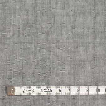 コットン&ポリウレタン×無地(グレー)×シャンブレーボイル・シャーリング サムネイル4