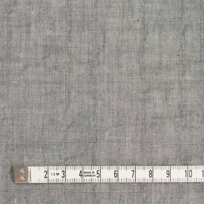 コットン&ポリウレタン×無地(グレー)×シャンブレーボイル・シャーリング イメージ4