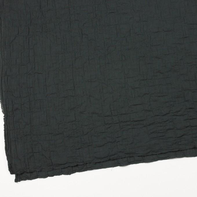 コットン&ポリウレタン×無地(チャコールブラック)×ヘリンボーン・シャーリング イメージ2