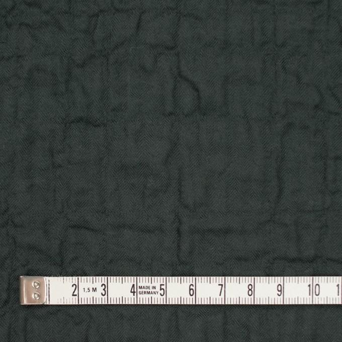 コットン&ポリウレタン×無地(チャコールブラック)×ヘリンボーン・シャーリング イメージ4