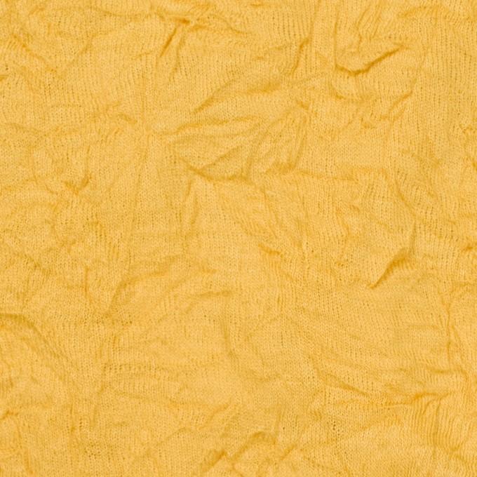 ウール×無地(サンフラワー)×天竺ニットワッシャー_全4色 イメージ1